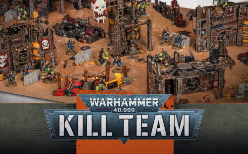Bring an Ork Scrap Town To Life With the Terrain in Kill Team: Octarius