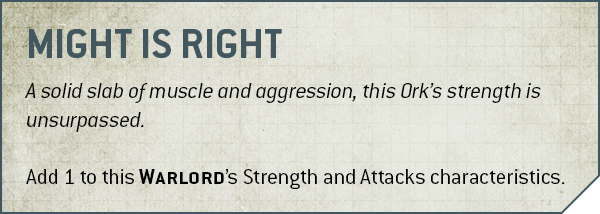 OrkCombos Sept01 MightisRight