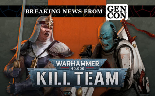 Gen Con – T'au Pathfinders Rumble With All-new Novitiate Sisters in the First Kill Team Expansion