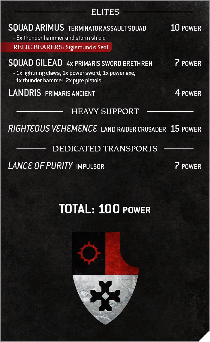 40kBT ZealousArmy Oct8 ArmyList2